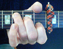 Using the guitar capo and free instructions
