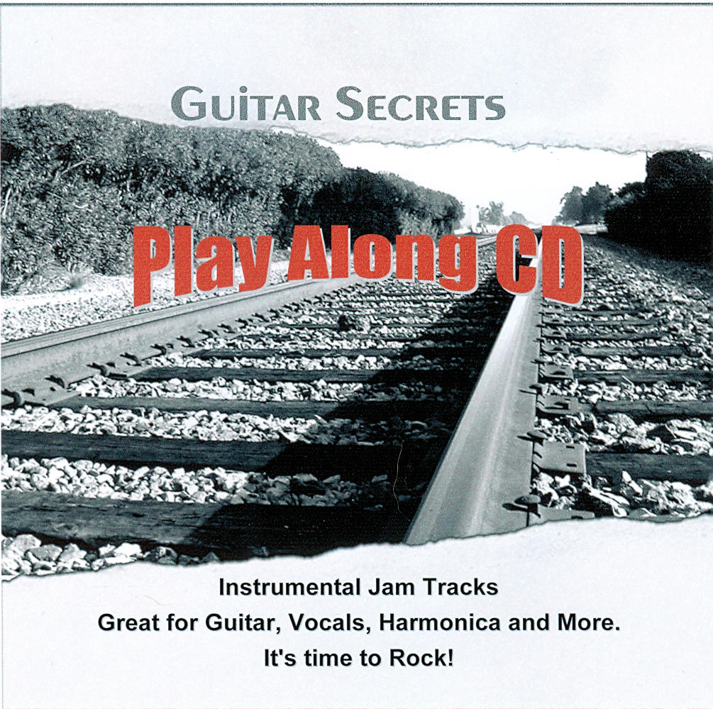 Guitar Secrets play along CD jam tracks