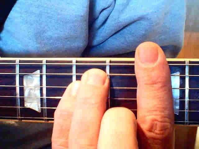 Guitar chords and arpeggio