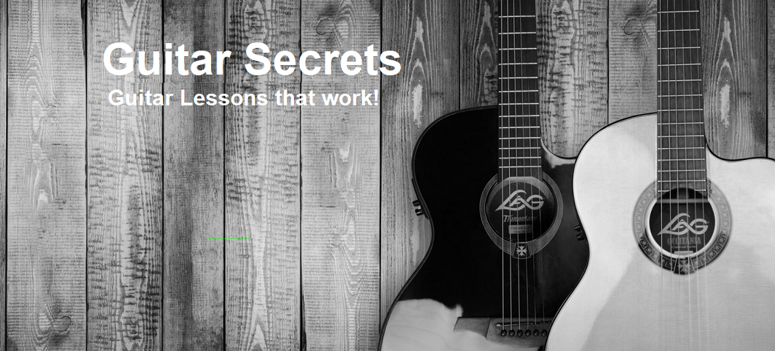 Httpsguitarsecrets Guitar Secrets Guitar Lessons Including