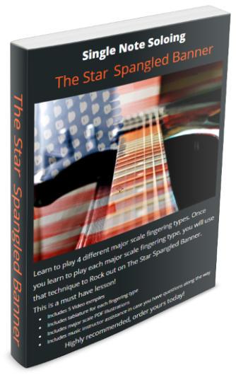 guitar secrets star spangled banner lead guitar made easy. Black Bedroom Furniture Sets. Home Design Ideas